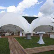 Dome tente de reception