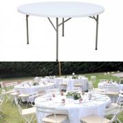 Table ronde 152 cm vente